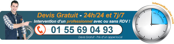 Plombier Paris - Tél. : 01 12 73 34 70