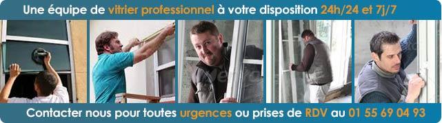 Professionnel Vitrier Paris