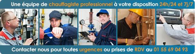 Professionnel Chauffagiste Paris