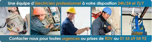 Professionnel Electricien Paris