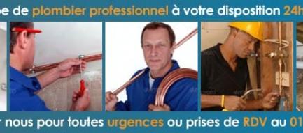 Professionnel Plombier Paris