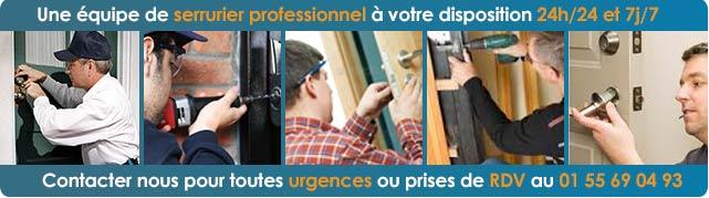 Professionnel Serrurier Paris